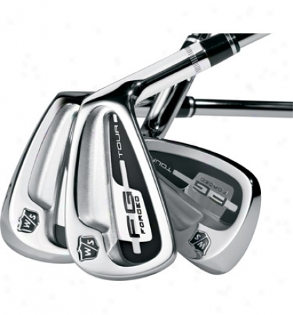 Wilson Fg Tour Iron Set 3-pw With Steel Shafts