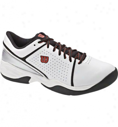 Wilson Tennis Men S Court Surgee White/black/red