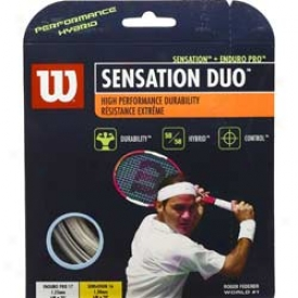 Wilon Tennis Sensatoon Duo (sensation + Enduro Pro)