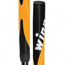Wiinn Excel Medallist Putter Grip Blacm/yellow