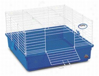 1-level My First Home For Guinea Pigs/dwarf Rabbits - Blue