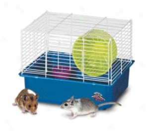 1-story Hamster/gerbil Home - Multicolor