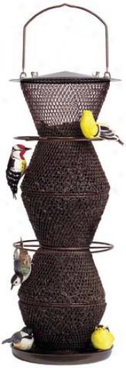 5-tier No/no Bird Feeder - Bronze