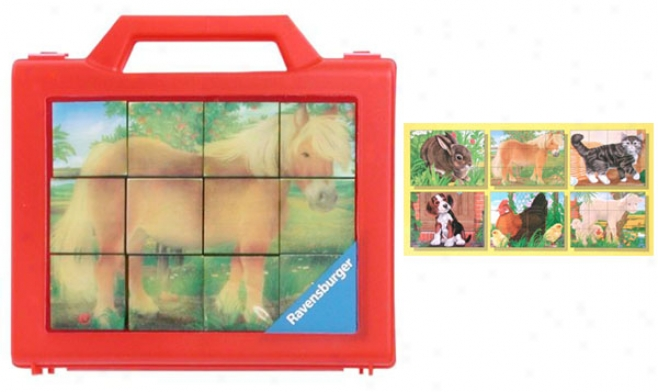 6-in-1 Animal Puzzle