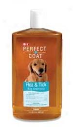 8 In 1 Perfect Coat Flea And Tick Dog Shampoo - 32 Oz