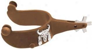 Abetta Abtique Bull Spurs - Antique Brown - Men's