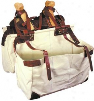 Abetta Box Eb Pannier Bags - Natural Duck - 26 X 18 X 10
