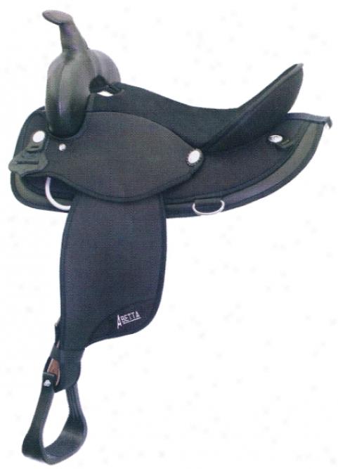 Abetta Cordura Round Siirt Saddle With Wide Flex Tree