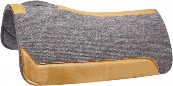 Abetta Felt Contour Pad - Gray - 30x32x1