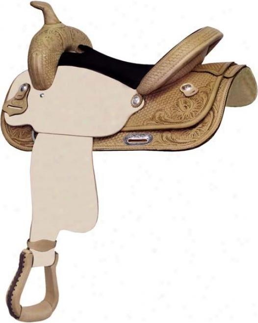 Abetta Floral/basket Roughout Saddle