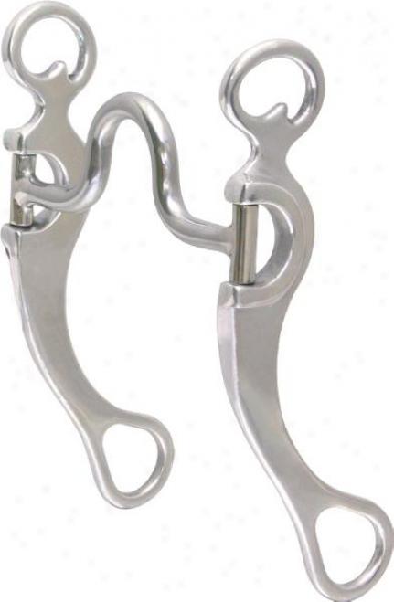 Abetta High Port Aluminum Shank Bit - Aluminum - 5