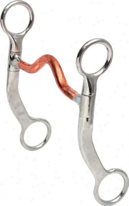 Abetta Medium Port Colt Bit - Stainless Steel - 5