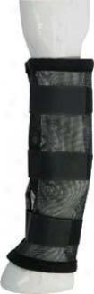 Abetta Mesh Fly Leg-wrap Boots - Black - 14 X 16