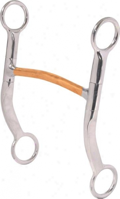 Abetta Mullen Bit With Coppermouth - Stainless Steel - 5