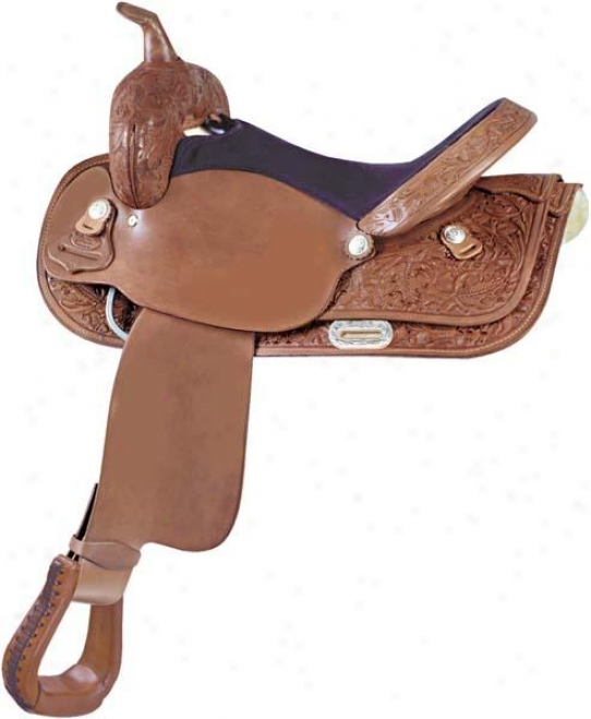 Abetta Oak Slickout Saddle