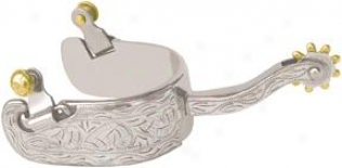 Abetta Silver Show Spurs - Silver - Men's