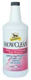 Absorbine Show Clean Mabe & Tail Whitener - 32oz