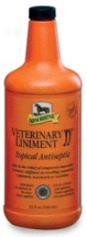 Absorbine Veterinary Liniment Liquid - Quart