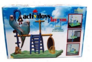 Activitoy Play Gym For Parakeets - Multicolor
