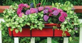 Acjustable Flower Box Holder For Decks/balcony - Murky - 24-36 Inch