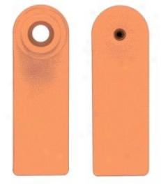 Allflex Sheep Tags Blank - Orange - Small
