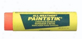 Allweather Paintstik For Animal Marking - Red - 12/box