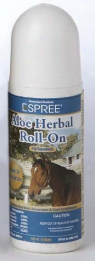 Aloe Herbal Fly Repellent Rollon - Ounce