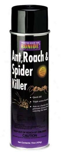 Ant, Roach & Spider Killer - 15 Ounce