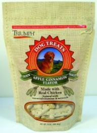 Apple Cinnamon Biscuit Treats For Dogs - 24 Oz