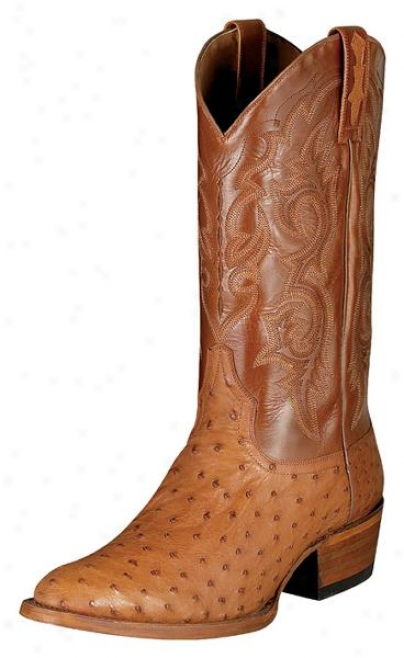 Ariat Man's Scottsdale R Toe Ostrich