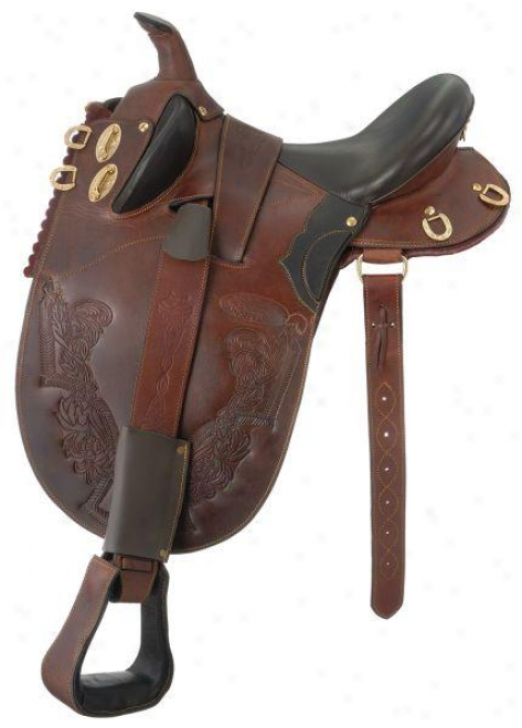 Australian Outrider Collection Dundee Rancher - Brown - Large 18