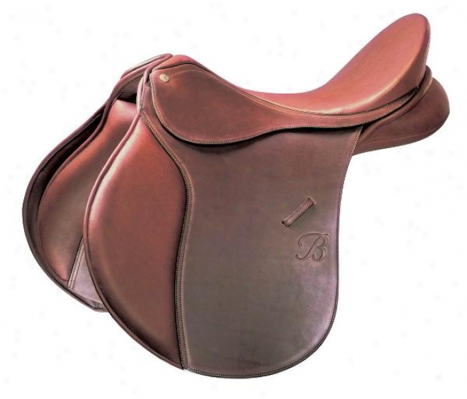 Bates Caprilli All Purpose Saddle - Havana Brown - 15