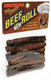 Beef Roll Dog Chew - 4-5 Inch/6 Pack
