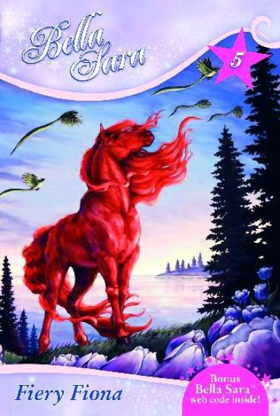 Bella Sara Children's Book - Fiery Flona