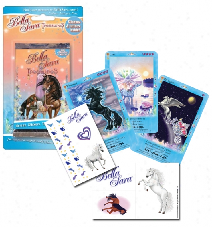Bella Sara - Treasures Blister Pack