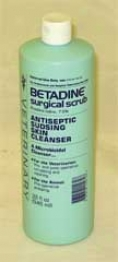 Betadine Surgical Scrub Wound Care