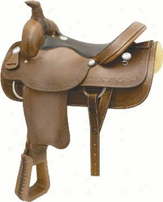 Billy Cook Saddlery Navajo Roper Saddle - Faxum - 15 1/2