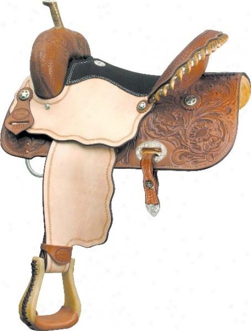 Billy Cook Saddlery Runnin' Tres Aces Saddle