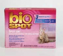 Bio Spot Spot-on For Cats