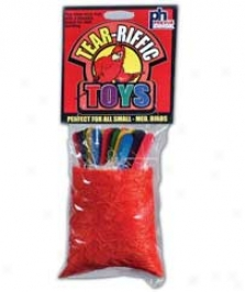 Bird Toy Fiber Grass Bag With  Sticks