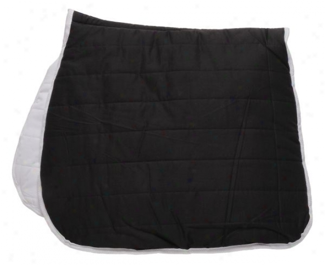 Wicked And White Reversible Dressage Puff Pad - Black/white