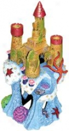 Blue Ribbon Coral Cavern Fortress Ornament - Multi-color