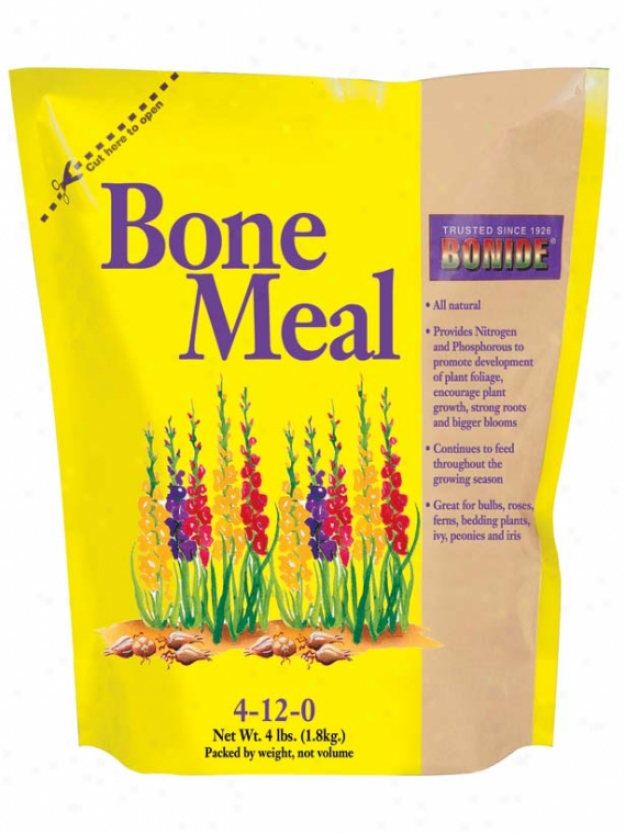 Bone Meal 4-12-0 For Plants - 4 Pound
