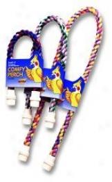 Booda Comfy Flexible Wireless Cotton Bird Perch - Multicokor - Small
