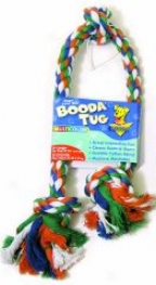 Booda Dog Dual Action Rope Tug - Multicolor