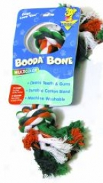 Booda Dog Rope Bone Tg Toy - Multicolor