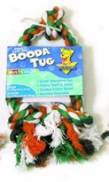 Booda Dog Rope Tug Toy - Large - Multi-color - Large