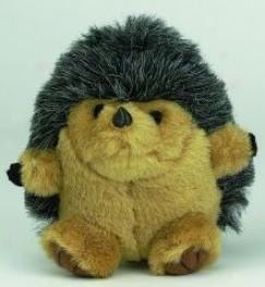 Booda Squatter Poly Cotton-wool Plush Dog Toy - Brown - Medium