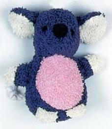 Booda Terry Catnip Cst Toy - Multicolor - Small