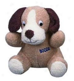 Booda Terry Cotton Dog Toy - Black, Pure, And Brown - Large